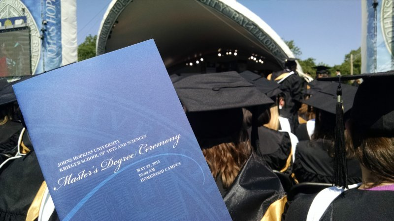 M.A. in Writing @aapjhu graduation time!