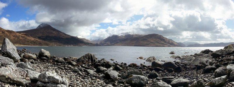 Panorama Loch Nevis