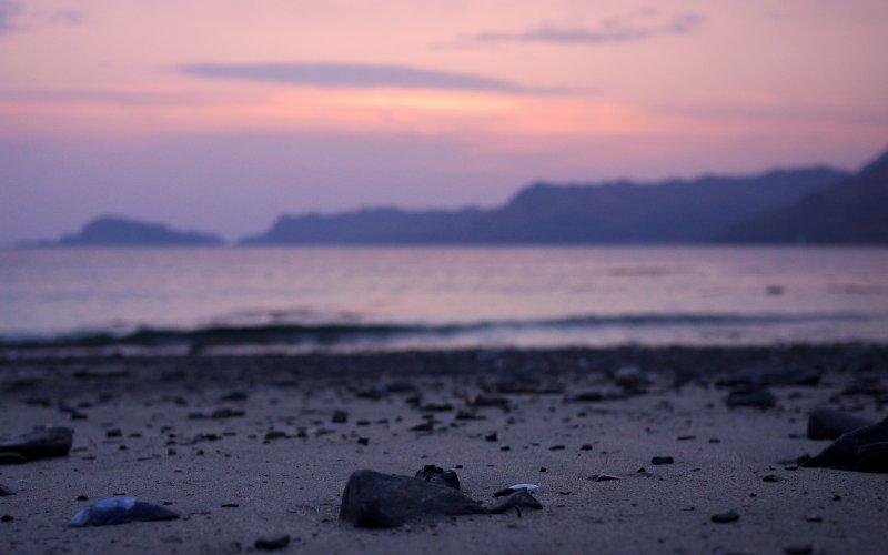 Sunset on Loch Nevis