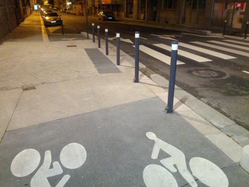 Biking madness in Grenoble