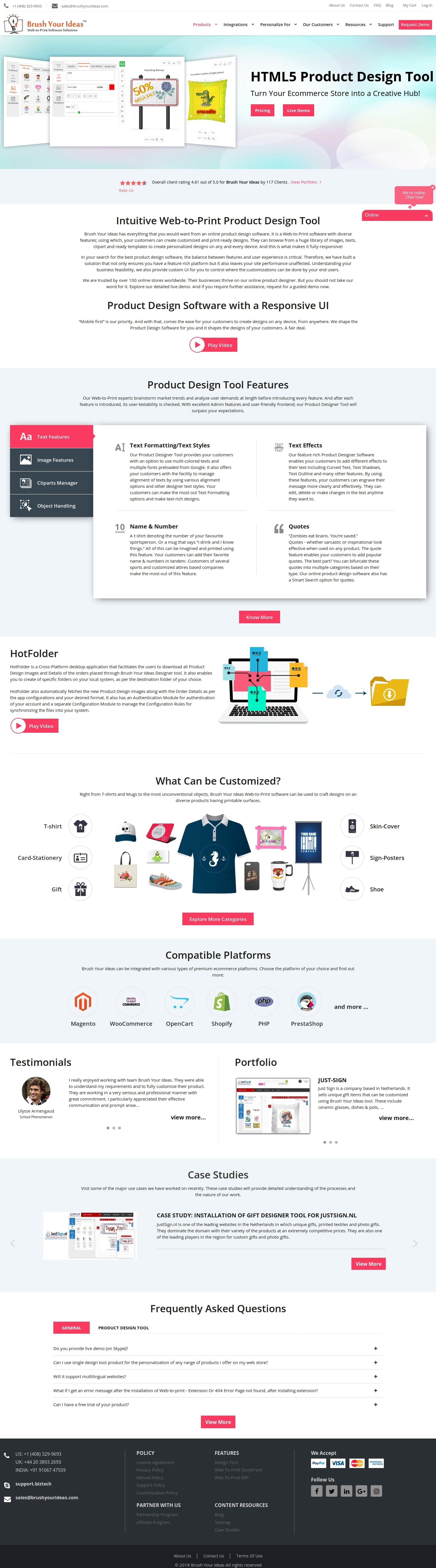 Online Product Design Tool