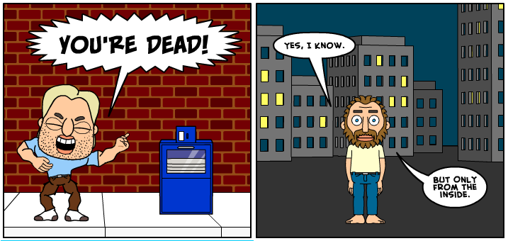 Superhals-Comic