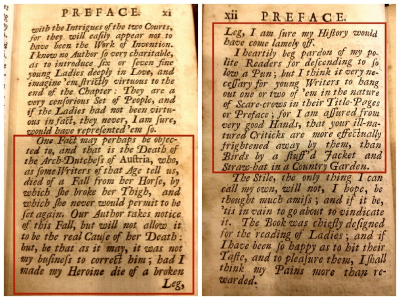 Bad 17th century puns...Preface of The secret history of Burgundy