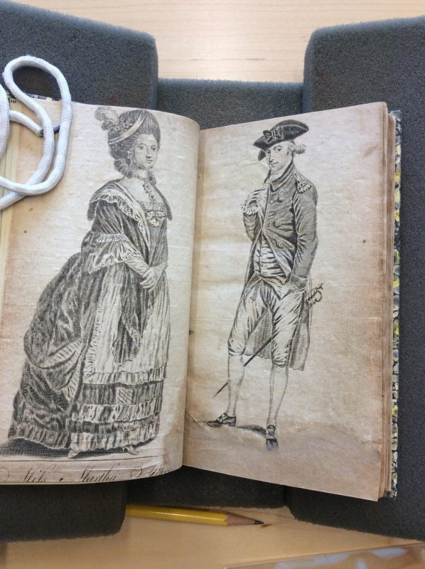 Love and Madness and 1780s fashion #c18