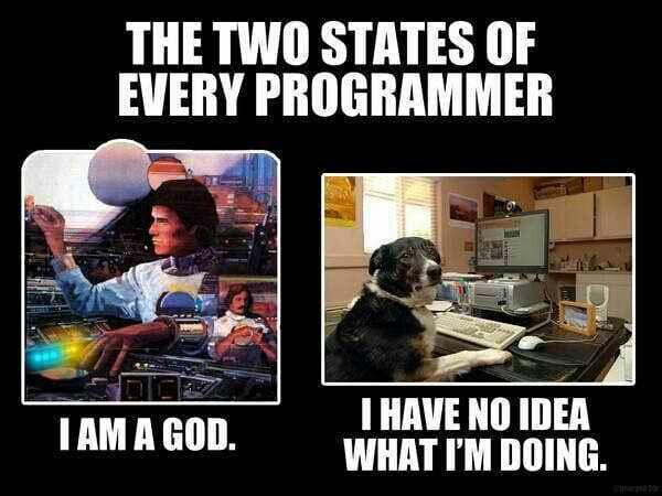 TRUTH: The two states of programming.