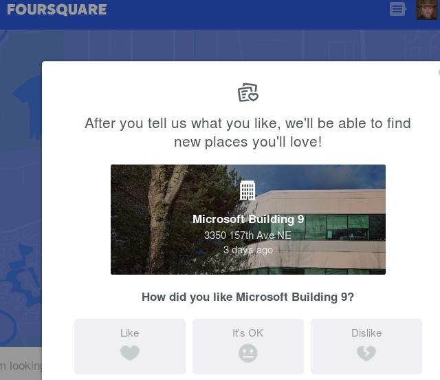 ¯\_(ツ)_/¯ Pretty much same as the others. #Foursquare #screenshot