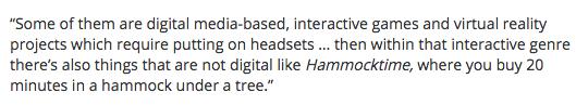 #hammocktime gets a mention in @theTiser - thanks @adelaide_fringe #ADLfringe @heathercroall xx