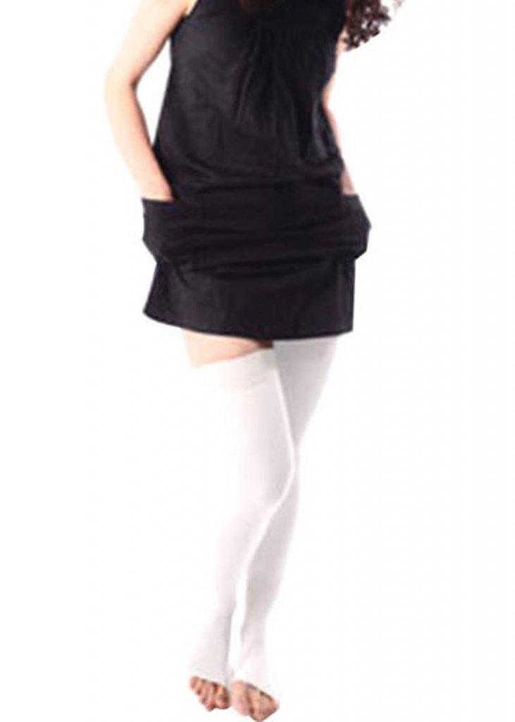 Vissco Anti Embolism Stockings Thigh Length Open Toe