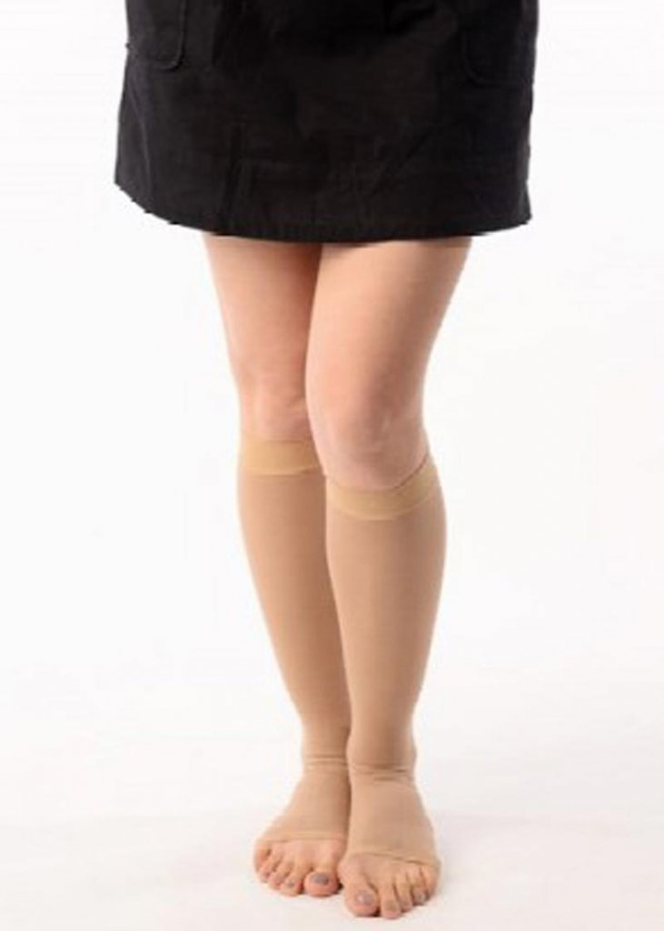 Knee Length Compression Stockings