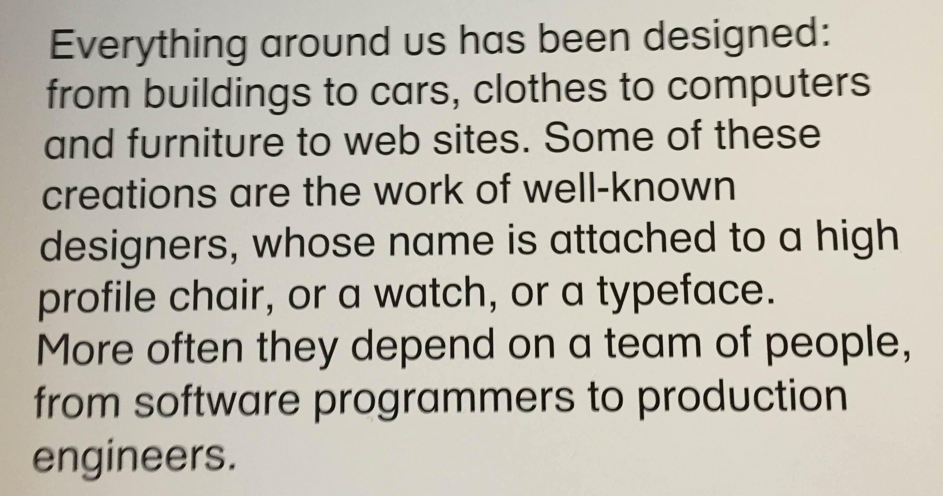 Design Museum Quote