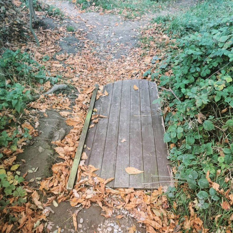 Paving the footpaths, Yorkshire version #indieweb