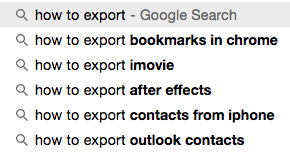 how to export… #indieweb