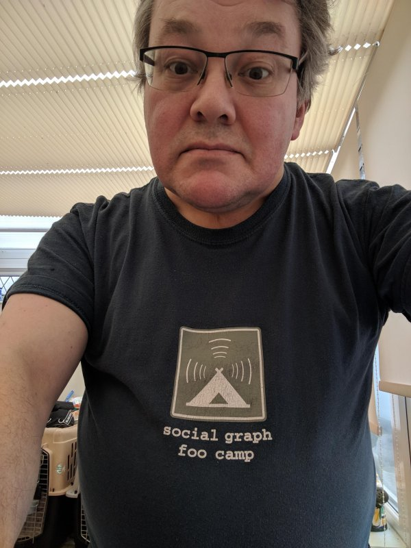 DiSo is back? I'm wearing my social graph foo camp shirt  just in case.