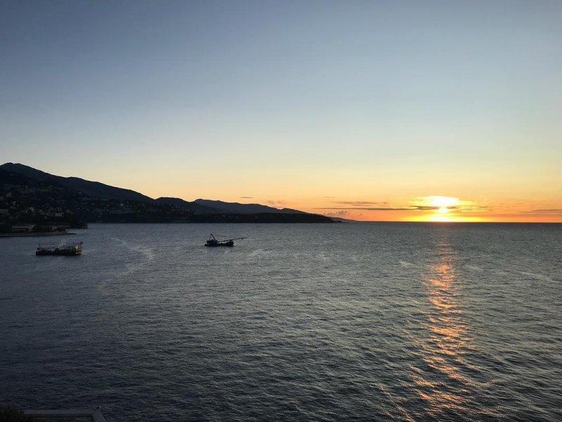 Sunrise on the Côte d'Azur