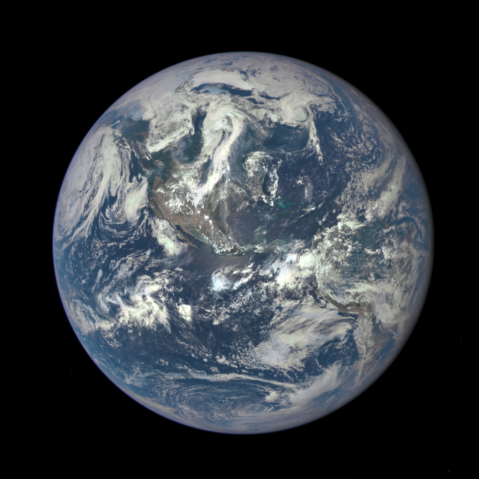 Earth from L1