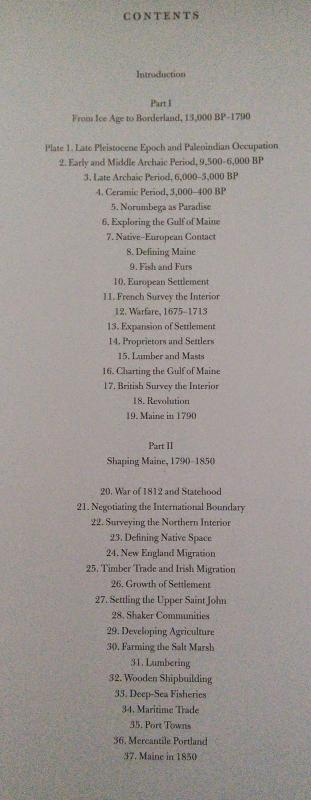 Historical Atlas of Maine | Table of Contents | 1 or 2