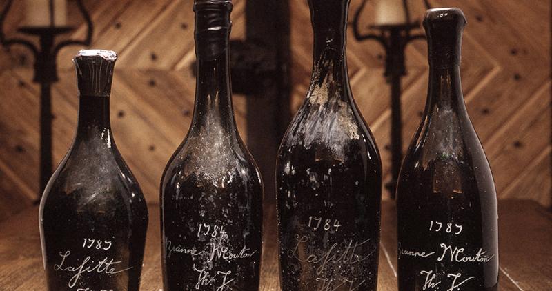 Wine scandals: The Jefferson Bottles
