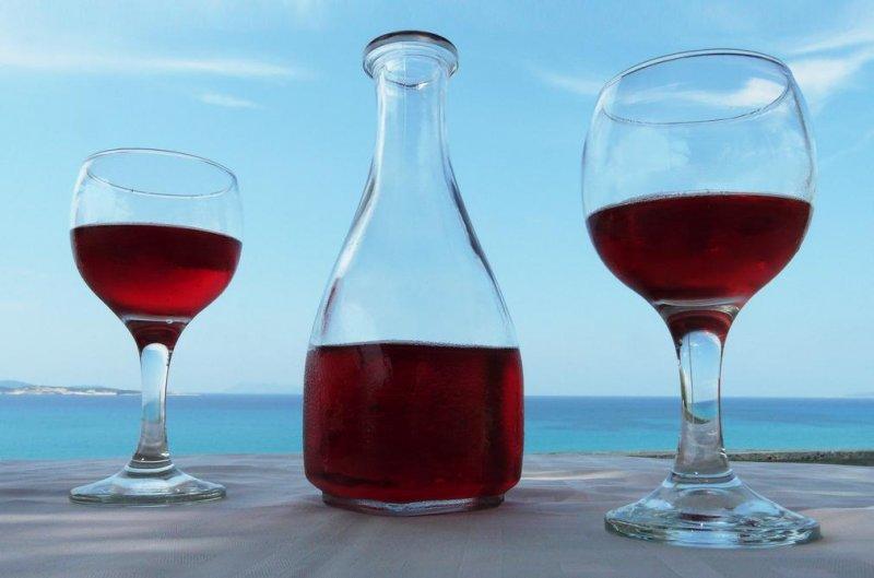 Did the Greeks Drink Blue Wine?