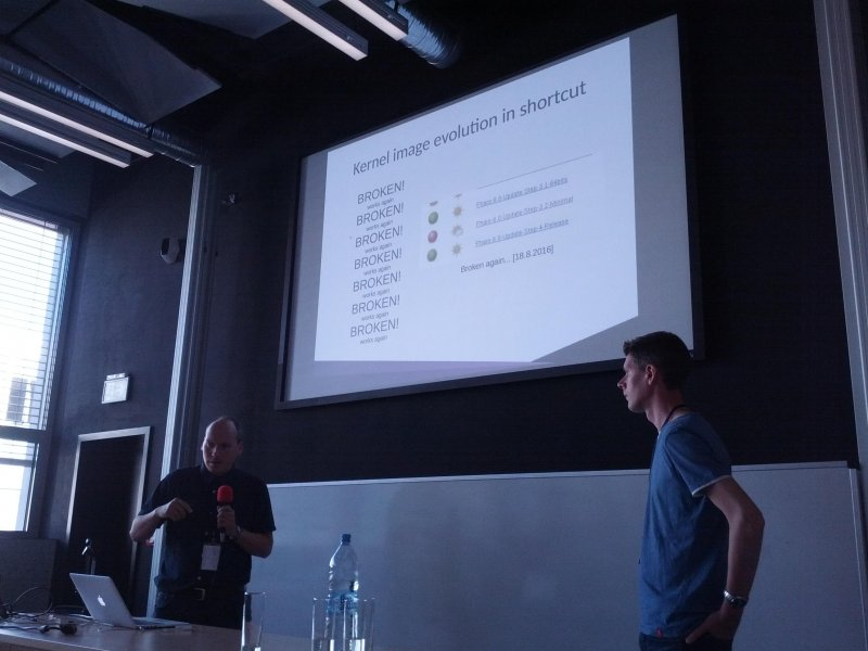 Kernel code evolution in shortcut at #ESUG16