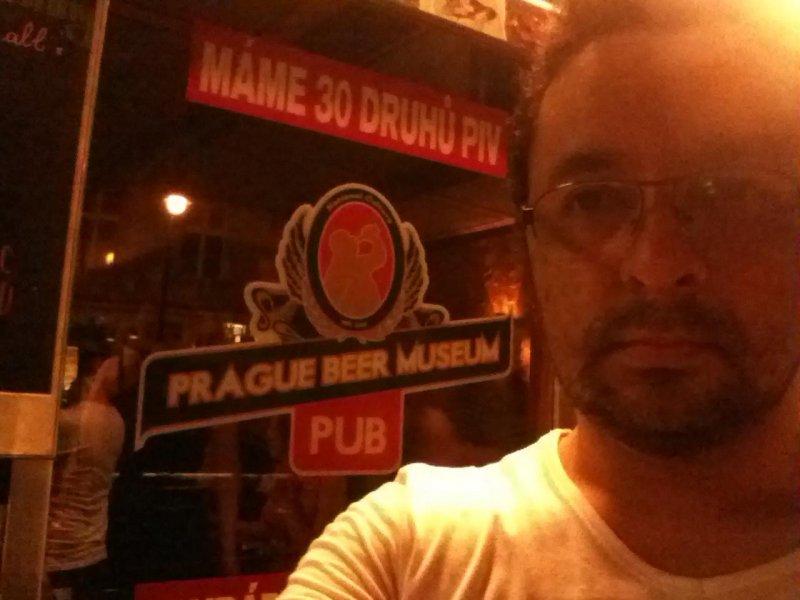 En el museo de la cerveza, en Praga