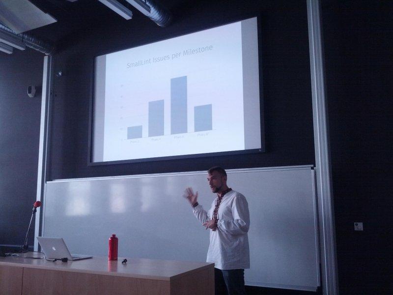 @yuriy_tymchuk at IWST sessions at #ESUG16