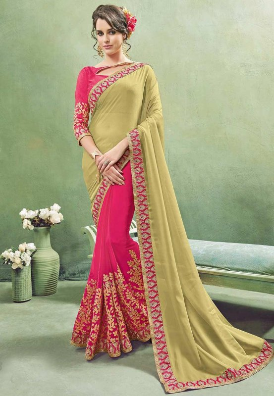 Buy Designer bridal wedding sarees online - Parivarceremony