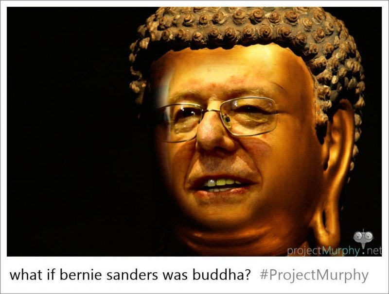 Buddha Sander brings enlightenment