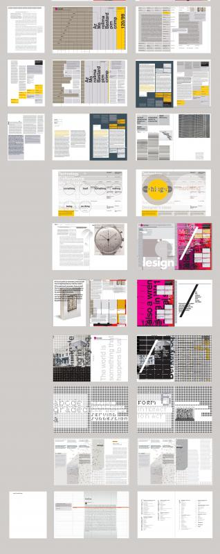 a).design philosophy; Page Experiments Part 2