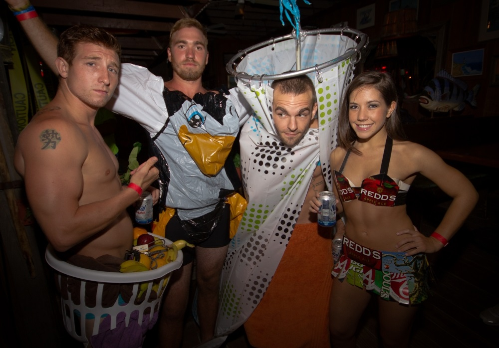 anything but clothes abc party ideas for guys