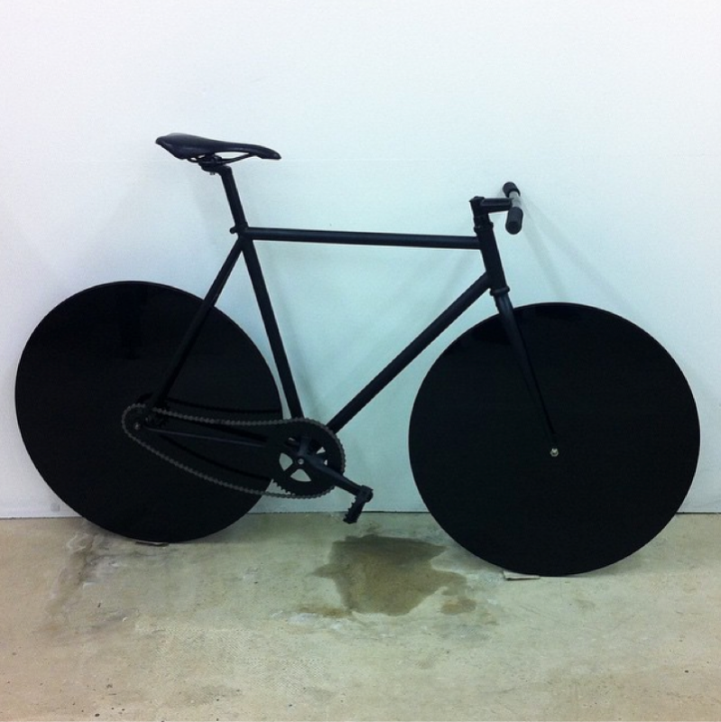 studio #bike trying to be an #eclipse /by studioolafureliasson