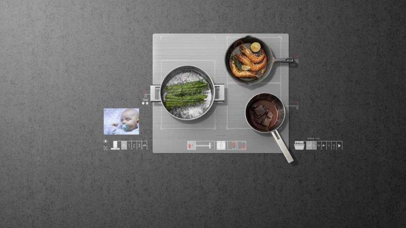 Electroménagerie chez #Grundig : Cuisiner en surveillant bébé ! #IOT