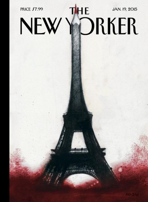 Couverture du prochain @NewYorker - (Ana Juan, http://anajuan.net)